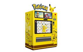 Monster Vending Machines Unique Japan Introduces Official Pokemon Vending Machines Grape Japan