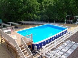 Above Ground Pool Steps for Decks JBURGH HomesJBURGH Homes