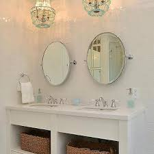 chandelier over bathroom vanity design ideas intended for chandeliers 15