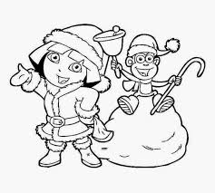 Dora Coloring Pictures To Print Free Coloring Pictures