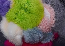 mongolian sheepskin rug luxury real long curly haired tibetan lambskin fur