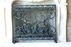 decorative fireplace screens fantastic decorative
