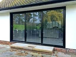 sliding glass patio doors cost to install patio door cost to install a sliding glass door in an existing wall