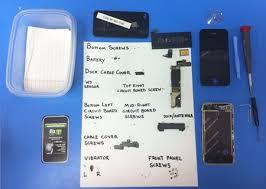 Diy Iphone 4 Screen Repair Dont Lose Your Screws