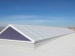 fiberglass reinforced panel for day lighting