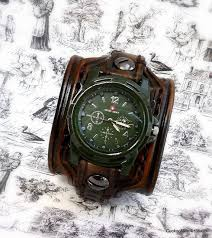 17 best ideas about cuff watches steampunk watch men s leather cuff watch wrist watch watch bracelet watch watch cuff