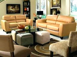 camel leather sofa new or couch and set decor