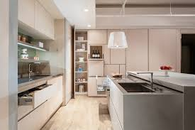 Kitchen Cabinets With No Doors Cabinets Drawer Contemporary Glossy White Kitchen Design Chrome