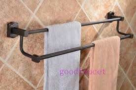 bronze towel bar. Oil Rubbed Bronze Towel Racks Rail Holder Double In Rack Idea 12 Bar .