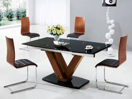 glass and wood dining table. Impressive Wooden Glass Dining Table Designs Popular And Wood Tables Precious Beautiful