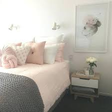 Pink And Grey Bedroom Blush Pink White And Grey Pretty Bedroom Via On Pink  And Grey Bedroom Colour Schemes