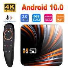 HONGTOP Smart TV Box <b>H50 TV Box Android</b> 10 4GB 32GB 64GB ...