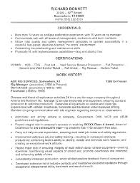 Oil Rig Manager Resume Sample All Trades Resume Writing Service