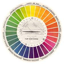 Free Printable Vintage Color Wheels Charts Yes You