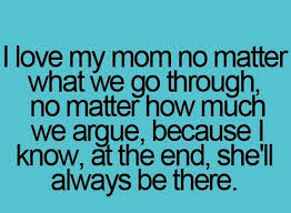 I Love My Mom Quotes