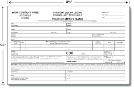 bill of lading trucking what information must be included on the bill of lading highlighted