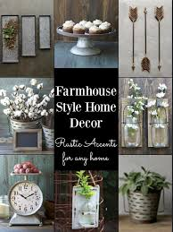 Small Picture Cheap Farmhouse Style Decor Galvanized Metal and Cotton Stems
