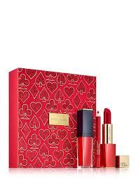 <b>Estee Lauder</b>   David Jones - <b>Lady Luck</b> Ruby Lips Gift Set