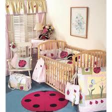 ladybug crib bedding decor