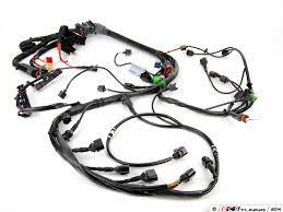 audi b6 a4 quattro 1 8t engine electrical harness page 1 ecs es 442179 8e1971072pb engine wiring harness complete harness for the engine