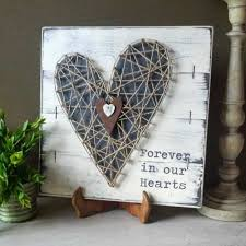 woven heart sympathy gift plaque