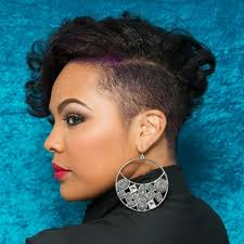 african american shaved hairstyles hotd shaved sides with long top you