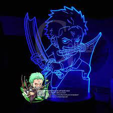 Đèn Ngủ One Piece Roronoa Zoro Chibi Type 03, quà tặng độc lạ