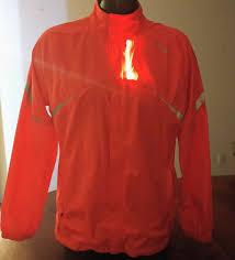 Saucony Light Up Jacket 110 Saucony Vizipro Sonic Pink Womens Windbreaker W Led Size Xl Running Cycling