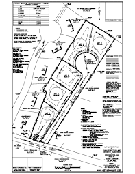 Definitive subdivision plan