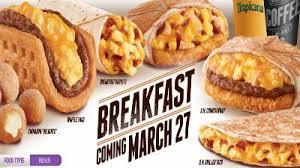 taco bell menu 2014. Delighful 2014 Taco Bell Breakfast Menu Coming March 27th On Menu 2014 S