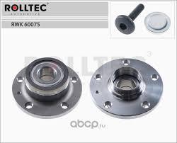 ROLLTEC RWK60075 <b>Ступица колеса</b> в сборе с подшипником ...