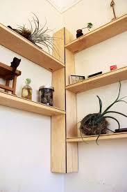diy tutorial diy corner shelves