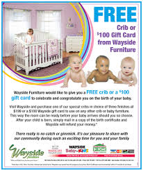 Free Crib From Wayside Furniture in Akron OH Area – The