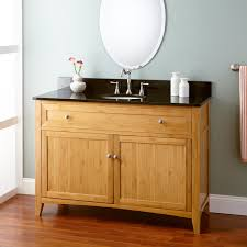 Bamboo Bathroom Cabinets 48 Taren Bamboo Vanity For Undermount Sink Light Espresso Wood
