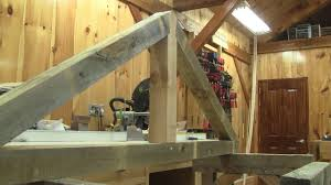 the wood ep 115 i m showing how i made my timber frame trusses