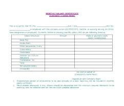 Printable Salary Certificate Format Template Uae Ccbrt Co