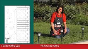how to choose garden lighting diy at