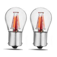 W21 5w Brake Light 2pcs Upgraded 1157 Bay15d 21 5w Red 4 Filament Cob Led Stop Brake Lights Bulb Parking Turn Lamp 450lm Super Bright 12v 24v