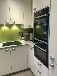 Wasabi Formica Splash Back Brings A Splash Of Colour To Your Kitchen