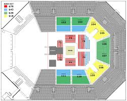 Nxt Seating Chart Wwe Nxt At Bb T Arena