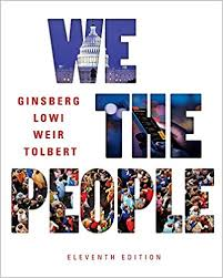Instructor's Test Bank for We the People, 11th Edition, Benjamin ...
