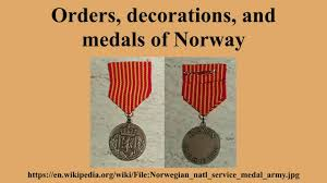 orders decorationedals of norway