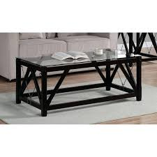 black and glass coffee table coffee table wood and glass coffee tables tempered glass coffee table