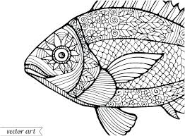 Coloring Pages Fish Rainbow Fish Coloring Page Fishing Pages