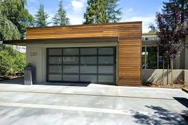 Contemporary Garage Garage Doors Does Front Door Have To Match