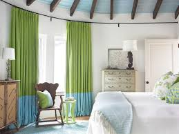 Sheer Curtains Bedroom Bedroom With Metal Bed And Small Wall Mirror With Sheer Curtains
