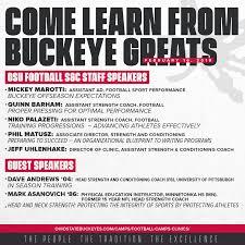 Football Coaches Strength Clinic Ohio State Buckeyes