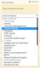Edit Wiki Standard Edit Summary Fandom Developers Wiki Fandom