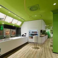 greenery office interiors. Wienerwald-restaurant-ippolito-fleitz-group-greenery-pinterest-dezeen- Greenery Office Interiors