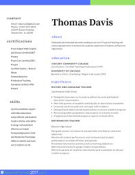 Fantastic Educator Resume In Teacher Resume Samples Writing Guide